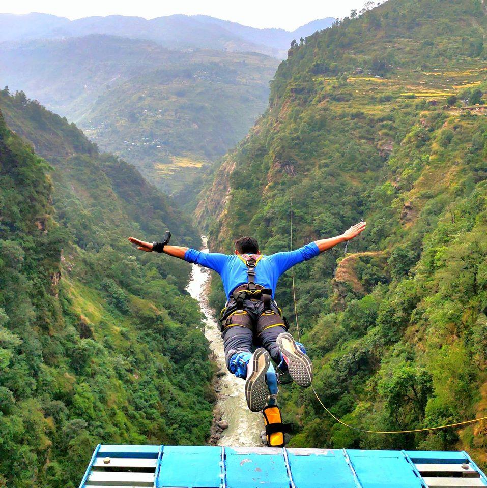 Bungee Jumping Bhote Koshi